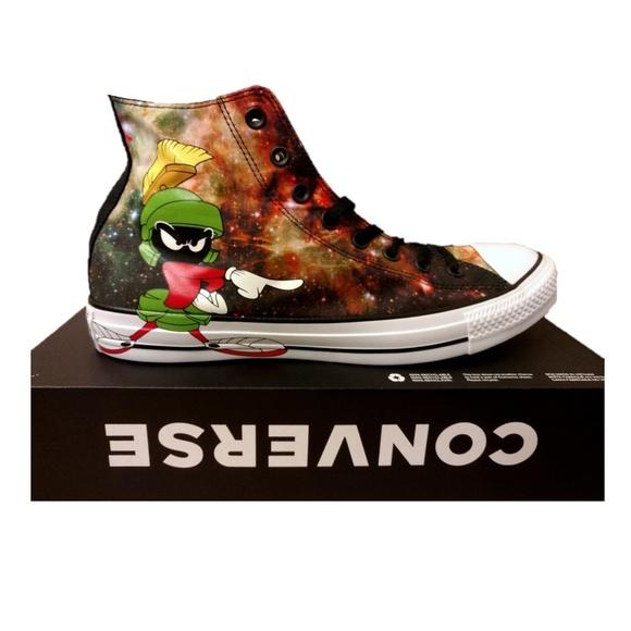 85210da933a Marvin the Martian Converse Sneaker Looney Tunes